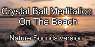 crystal ball meditation nature sounds version