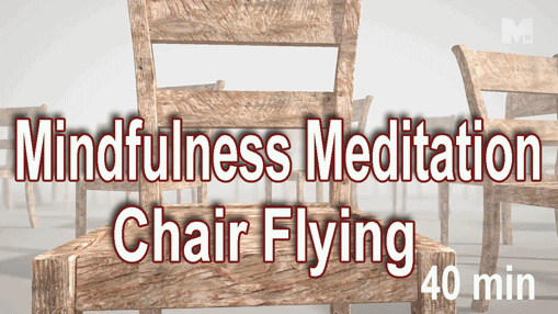 mindfulness meditation chair flying
