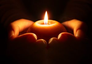 meditation guided by the burning fire