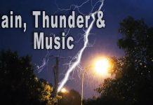 rain thunder music